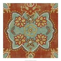 """Turkish Spice IV by Chariklia Zarris - 20"""" x 20"""", FulcrumGallery.com brand"""