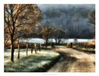 Morning Frost Fine Art Print