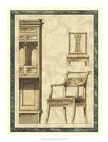 """Biedermeier Furniture II by Vision Studio - 16"""" x 21"""""""
