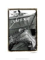 "Fishing Trawler- Cape May by Laura Denardo - 16"" x 21"""