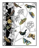 """Aviary I by Chariklia Zarris - 17"""" x 21"""""""