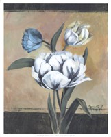 "White Tulips I by Marietta Cohen - 17"" x 21"""