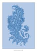 "Porcelain Blue Motif I by Vision Studio - 16"" x 22"""