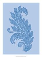 "Porcelain Blue Motif III by Vision Studio - 16"" x 22"""