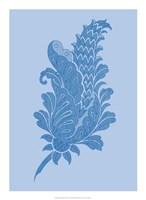 Porcelain Blue Motif IV Fine Art Print