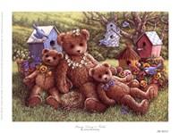 "8"" x 6"" Teddy Bear Portraits"
