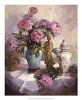 "Pink Peonies by Maxine Johnston - 18"" x 22"" - $27.99"