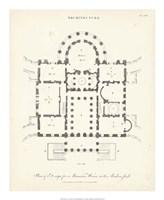 Plan for a Mansion Fine Art Print
