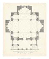 Plan for a Chapel Fine Art Print