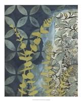 "Peridot Botanical II by Megan Meagher - 18"" x 22"""