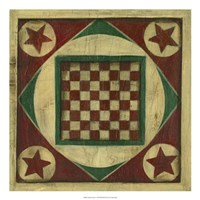 Antique Checkers
