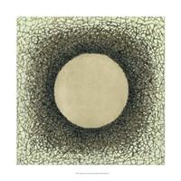 "Lunar Eclipse II by Vanna Lam - 22"" x 22"", FulcrumGallery.com brand"