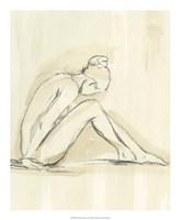 "Neutral Figure Study I by Ethan Harper - 18"" x 22"""