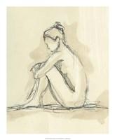 "Neutral Figure Study II by Ethan Harper - 18"" x 22"""