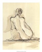 Neutral Figure Study III Fine Art Print