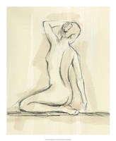 "Neutral Figure Study IV by Ethan Harper - 22"" x 22"""