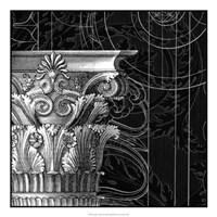 "Graphic Cornice II by Vision Studio - 22"" x 22"""