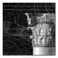 "Graphic Cornice III by Vision Studio - 22"" x 22"""