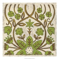 Lotus Tapestry I Fine Art Print