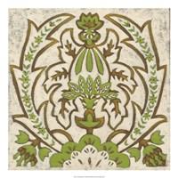 Lotus Tapestry II Fine Art Print