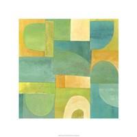 """Calypso II by Chariklia Zarris - 22"""" x 22"""""""