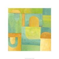 """Calypso IV by Chariklia Zarris - 22"""" x 22"""""""