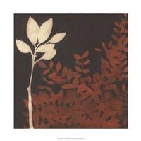 """Garden Cameo II by June Erica Vess - 22"""" x 22"""""""