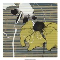 """Layered Poppies II by Jennifer Goldberger - 22"""" x 22"""" - $34.49"""