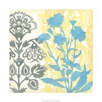 "Floral Triad II by Megan Meagher - 22"" x 22"", FulcrumGallery.com brand"