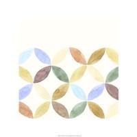 """Geometric IV by Chariklia Zarris - 22"""" x 22"""", FulcrumGallery.com brand"""