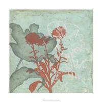"""Trois Fleur I by Megan Meagher - 22"""" x 22"""""""