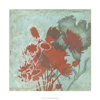 "Trois Fleur II by Megan Meagher - 22"" x 22"""