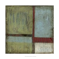 "Rustic Minimalism I by Jennifer Goldberger - 22"" x 22"", FulcrumGallery.com brand"