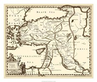 """Antiquarian Map III by Vision Studio - 26"""" x 22"""" - $40.49"""