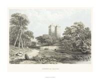 "Borthwick Castle - 28"" x 22"""
