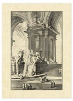 Vintage Roman Ruins IV Fine Art Print