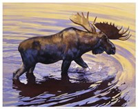 "Alaskan Gold by Julie Chapman - 29"" x 23"""