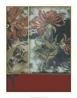 "Silhouette Tapestry IV by Jennifer Goldberger - 18"" x 24"""