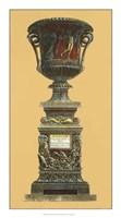 "Vase et Piedestal II by Giovanni Battista Piranesi - 13"" x 24"" - $21.99"