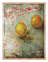 """Time Ripens All Things by Lorraine Vail - 18"""" x 24"""", FulcrumGallery.com brand"""