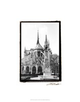 Notre Dame Cathedral III Fine Art Print