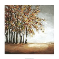 "Tree in Fall by Christina Long - 24"" x 24"" - $62.49"