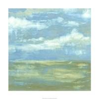 "Cloud Striations I by Jennifer Goldberger - 24"" x 24"""