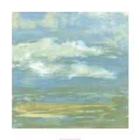 "Cloud Striations II by Jennifer Goldberger - 24"" x 24"""