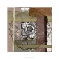 "Woven Rosette I by Jennifer Goldberger - 24"" x 24"""