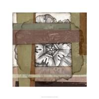 "Woven Rosette II by Jennifer Goldberger - 24"" x 24"""