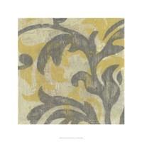 """Decorative Twill I by Jennifer Goldberger - 24"""" x 24"""""""