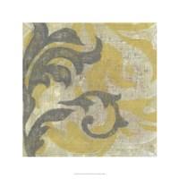 """Decorative Twill II by Jennifer Goldberger - 24"""" x 24"""""""