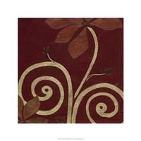 Cardamon Floral III Framed Print