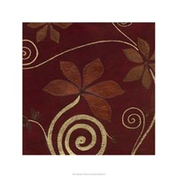Cardamon Floral IV Framed Print
